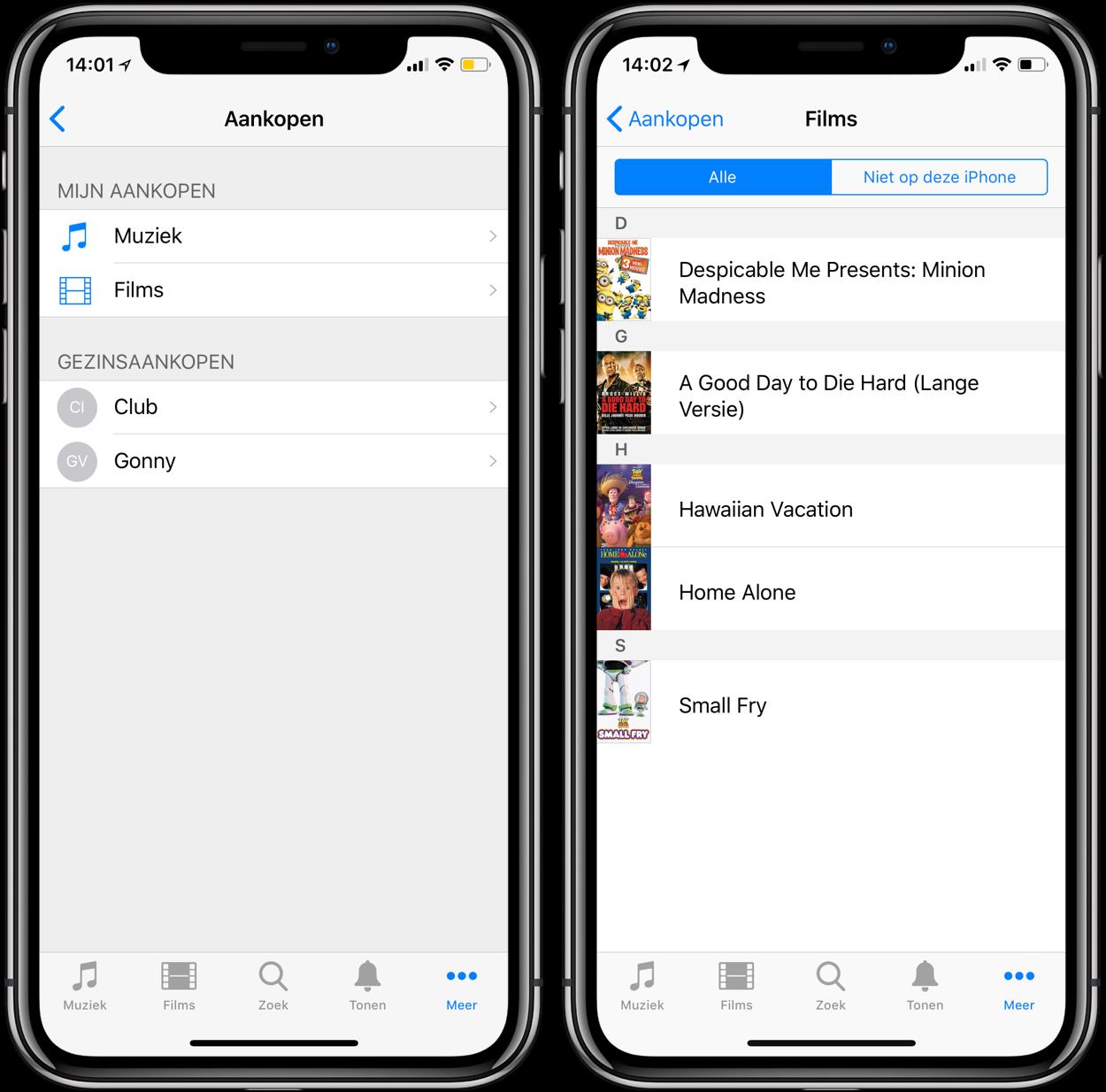 iTunes in de Cloud: muziek en films opnieuw downloaden