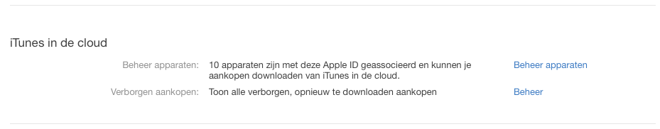 iTunes apparaten autoriseren