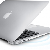 MacBook Air met Wi-Fi.