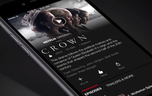 Netflix op iPhone