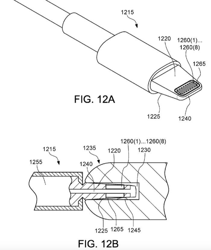 Patent waterdichte Lightning-kabel.