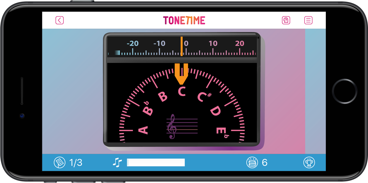 ToneTime digitale muziekles