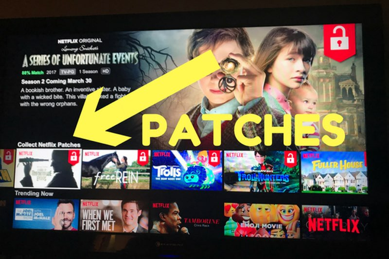 Netflix patches