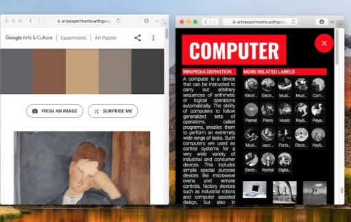 Kunst zoeken met Google