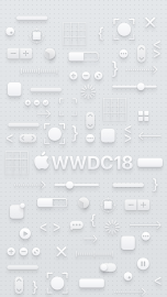WWDC 2018 wallpaper iPhone 8 light