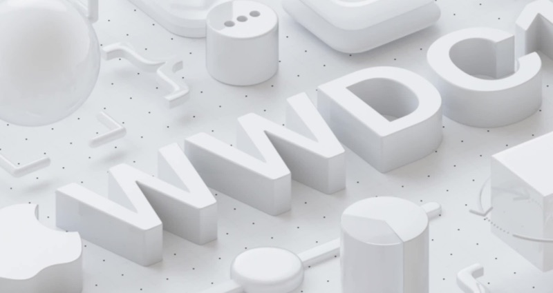 WWDC 2018-uitnodiging me diepte.