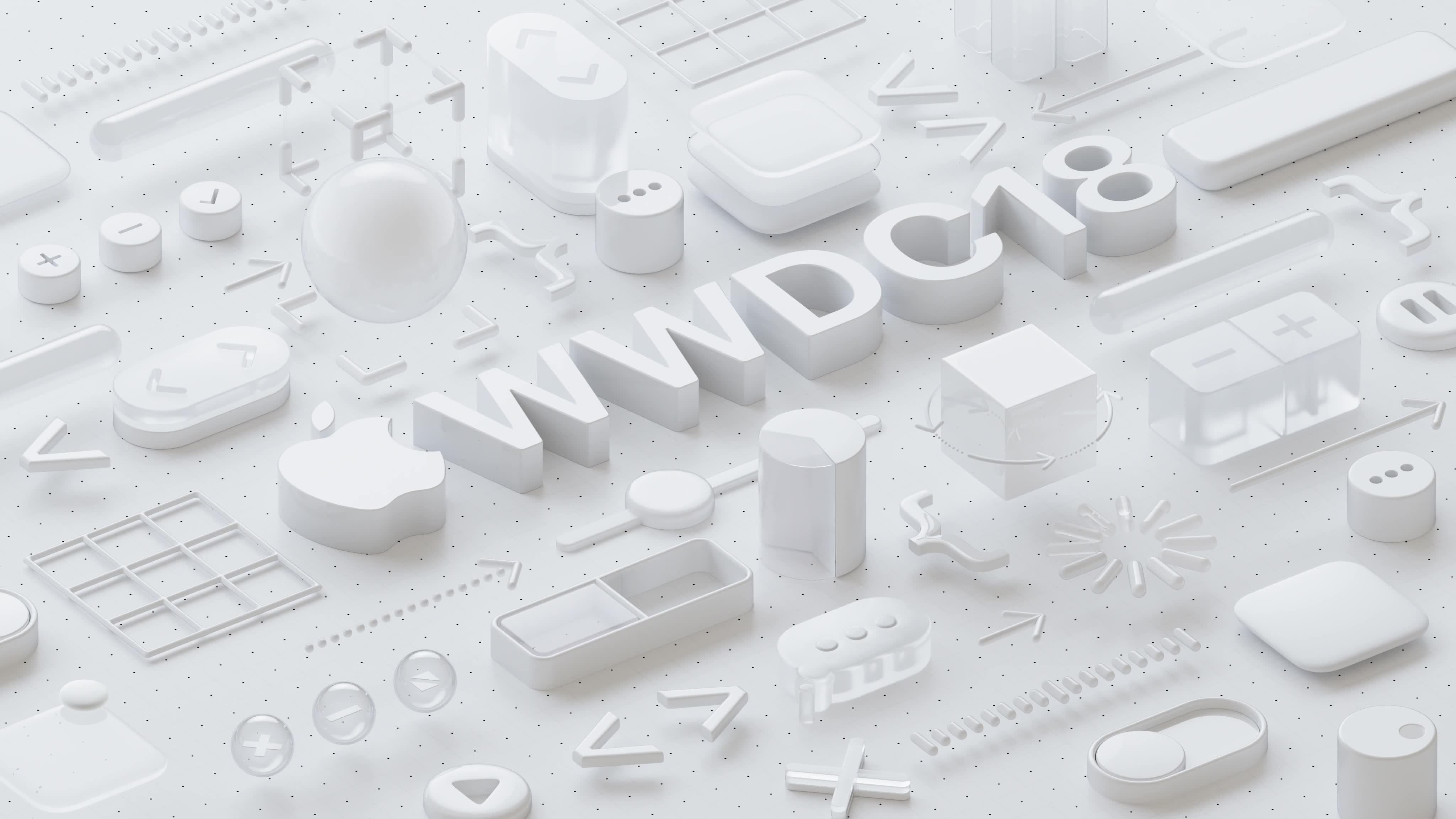 WWDC 2018 aankondiging groot.