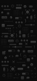 WWDC 2018 iPhone X dark mode no logo wallpaper