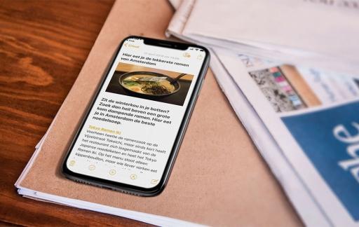 Notities-app iPhone