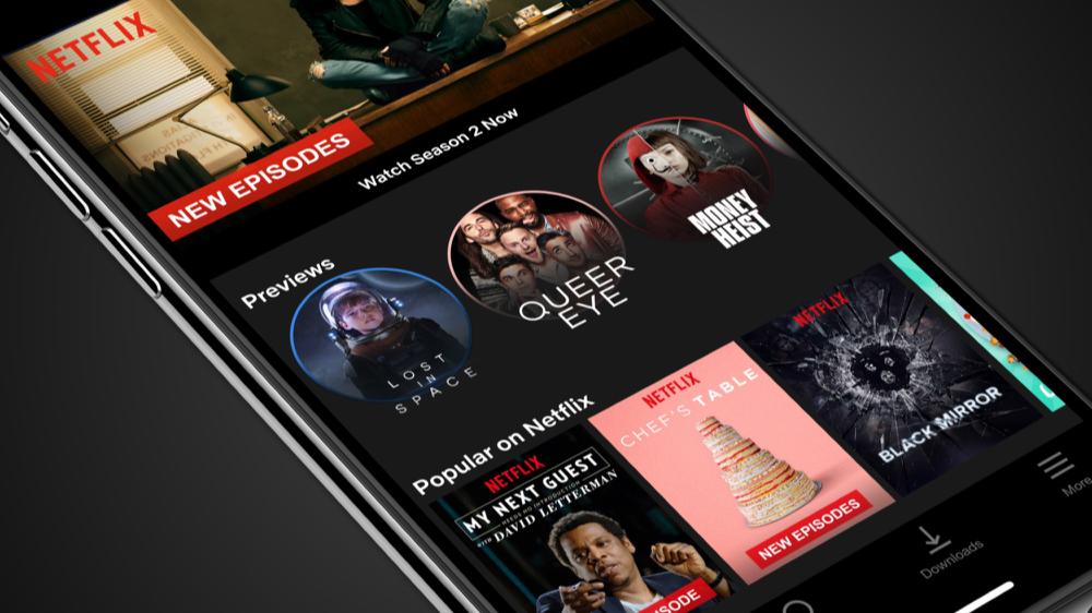 Netflix previews lijken op Stories.