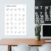 Poster met ontwikkeling Mac