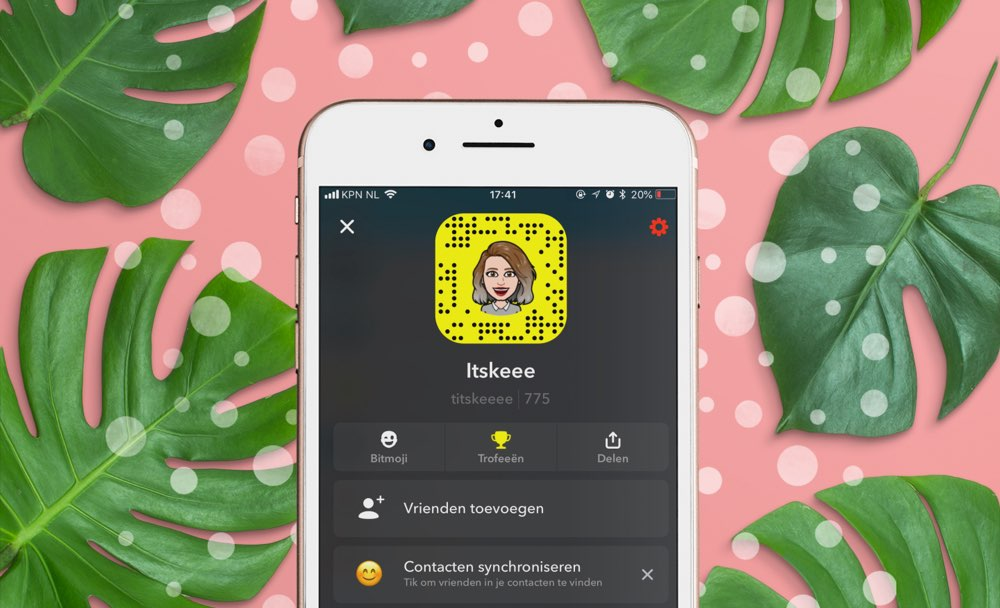 Snapchat-profiel