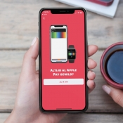 Intro van Apple Pay in bunq.
