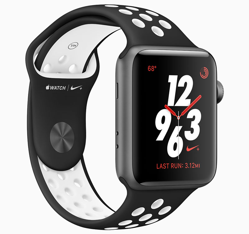 Apple Watch bandje voorjaar 2018 Nike gaatjespatroon