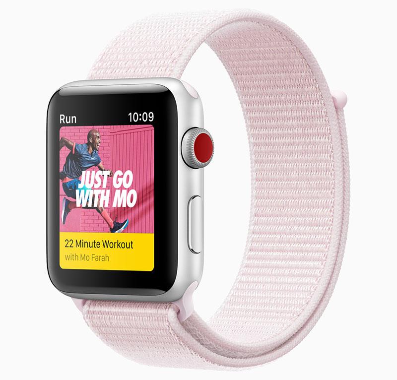 Apple Watch bandje voorjaar 2018 van Nike
