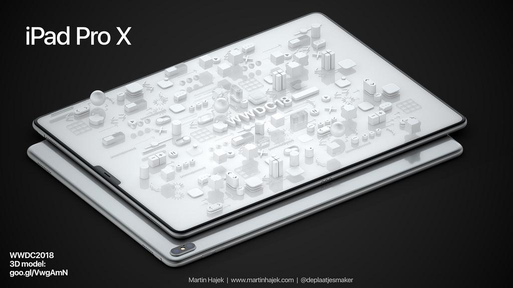 iPad Pro-concept van Martin Hajek.