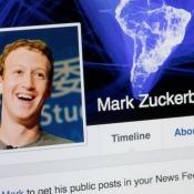 Facebook-profiel van Mark Zuckerberg
