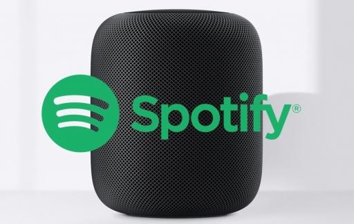 HomePod met Spotify.