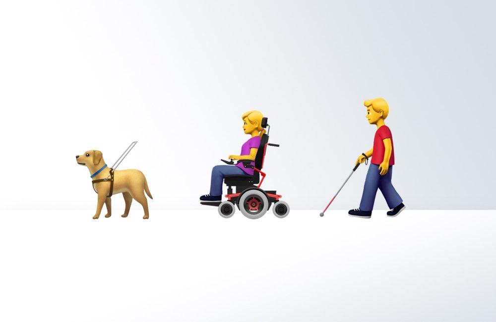 Apple emoji voorstel handicaps