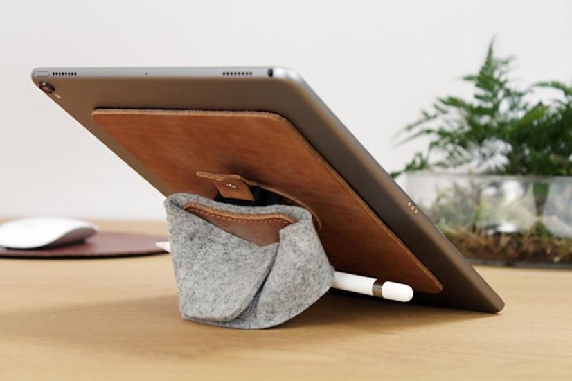 TabStrap: iPad Pro in een hand vasthouden