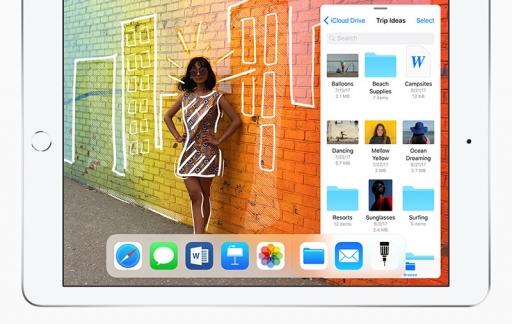 iPad 2018 met tekening met Apple Pencil.