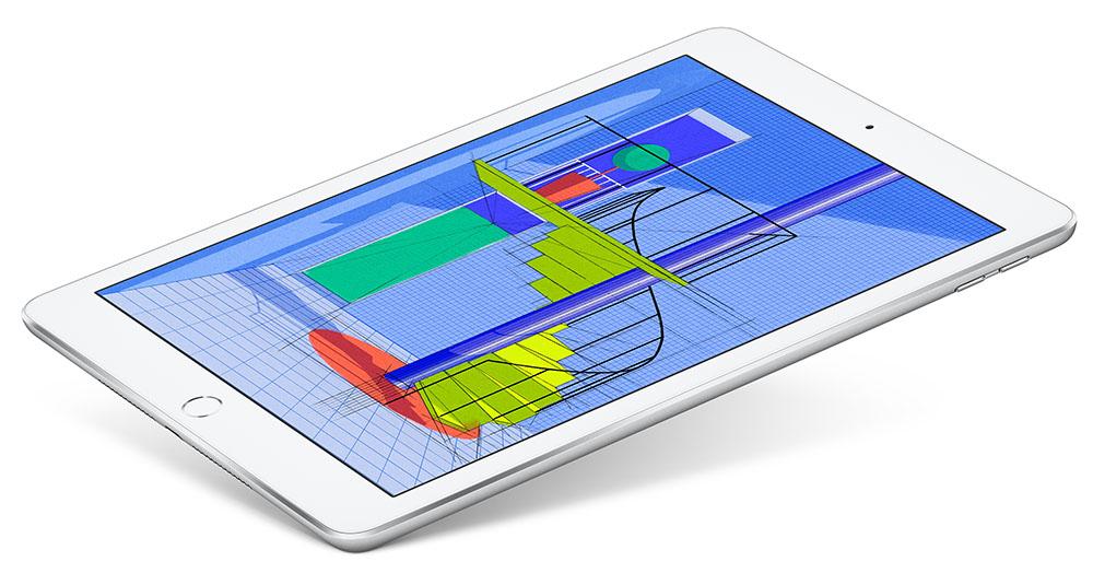 iPad 2018 met grafische toepassing