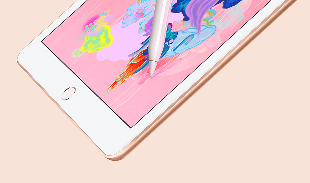 iPad 2018 met Pencil