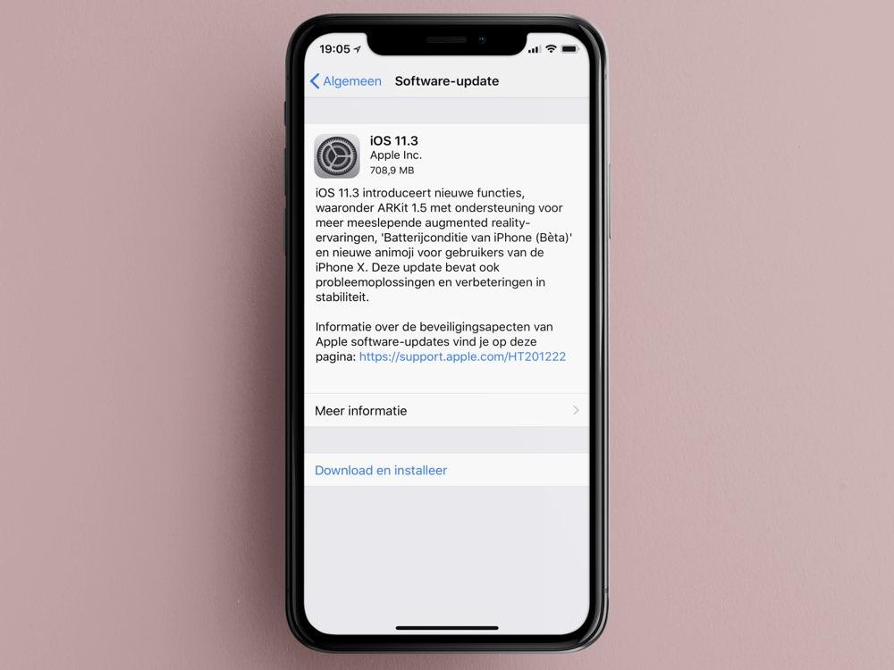 iOS 11.3 downloaden voor iPhone en iPad: dit is er nieuw