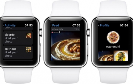 Instagram Apple Watch