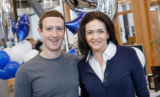 Facebook: Mark Zuckerberg, Sheryl Sandberg