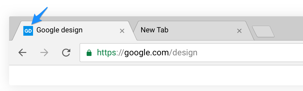 Favicons in Chrome