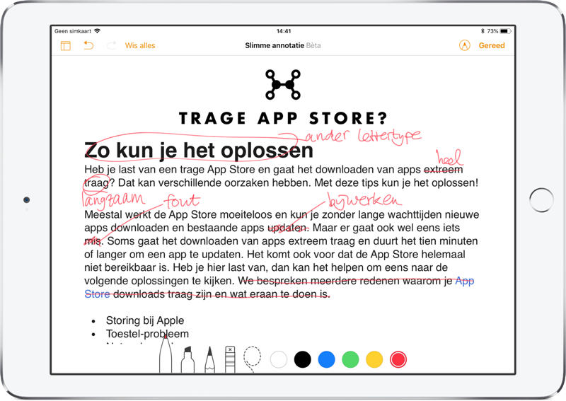 Pages: Smart annotatie voor