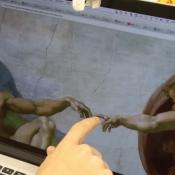 MacBook touchscreen door Project Sistine.