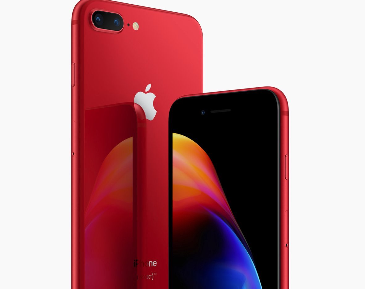 iPhone 8 rood Product Red