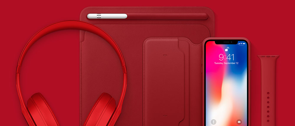 Apple's PRODUCT RED-bijdrage is 160 miljoen dollar
