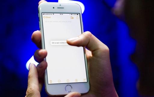 Drag & Drop op de iPhone
