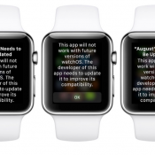 Apple Watch-melding bij oudere apps.