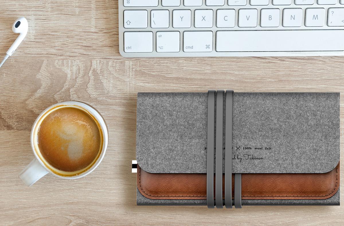 MousePad+: muismat en draadloze oplader in een
