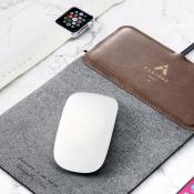 MousePad+: muismat en draadloze oplader in één