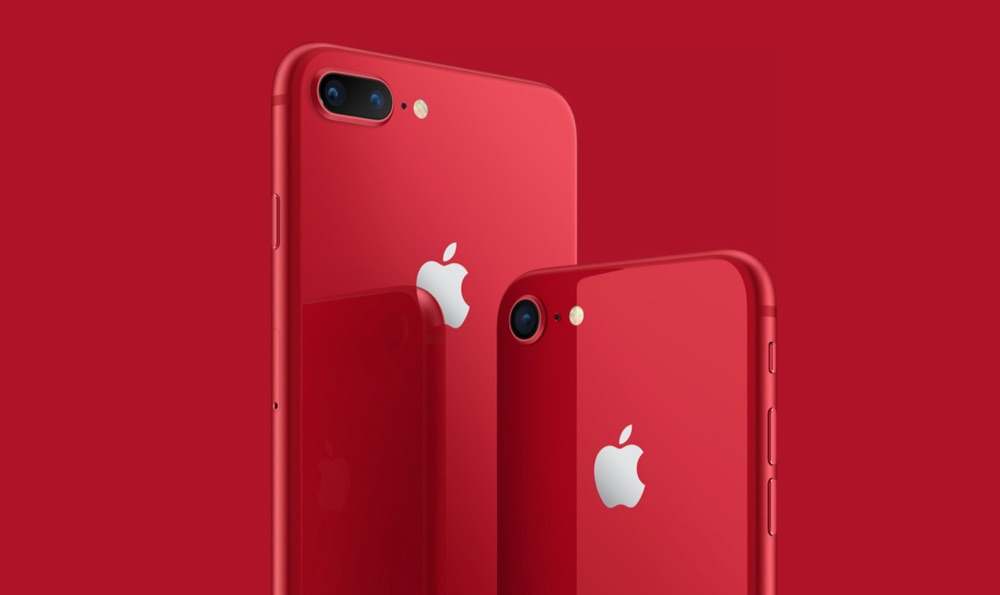 iPhone 8 in Product(RED).