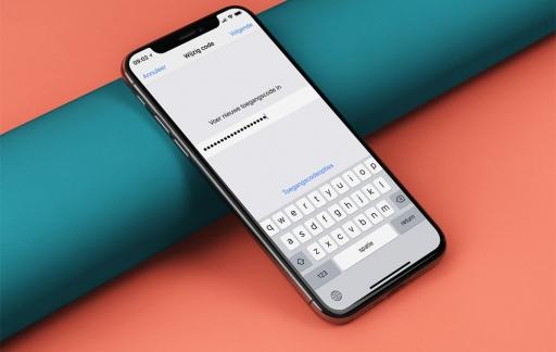 Complexe toegangscode iPhone