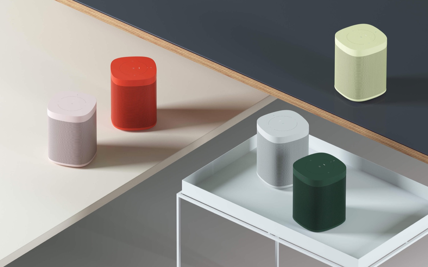 Sonos One HAY collectie.
