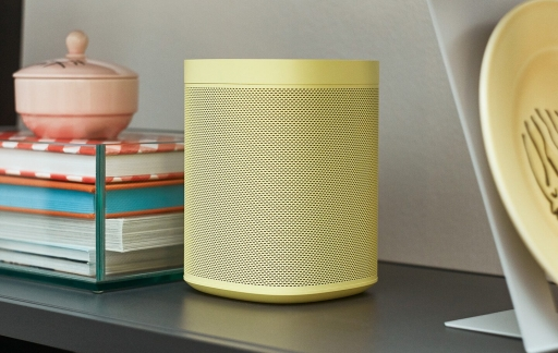 Sonos One in HAY geel.