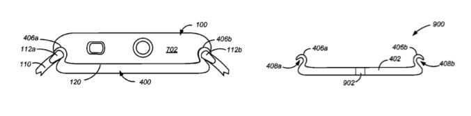 Apple Watch patent met achterkant.