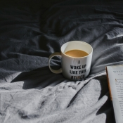 Koffie in bed