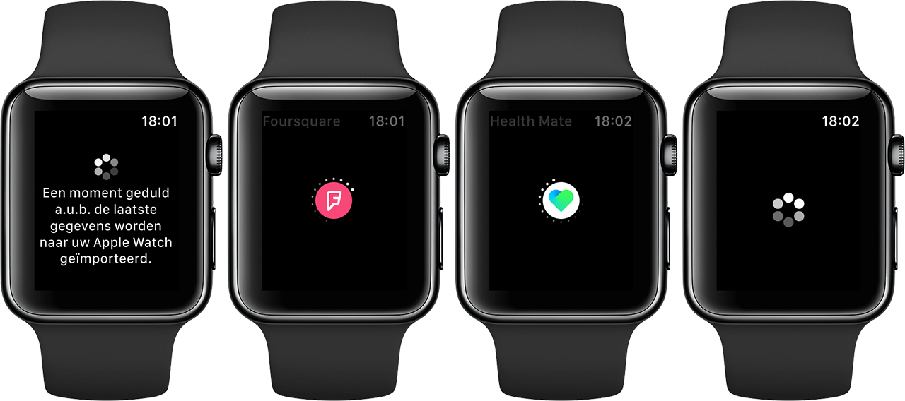 Apple Watch-apps: steeds maar wachten