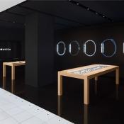 Apple Watch pop-up store in Isetan, Shinjuku (Tokio)