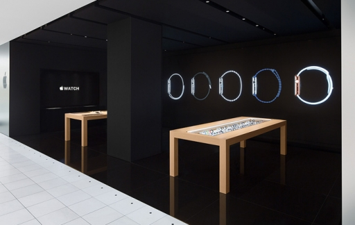 Apple Watch pop-up store in Isetan, Shinjuku (Tokio)