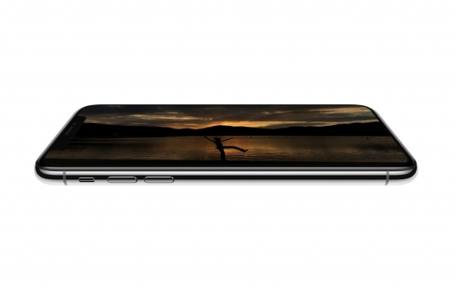 OLED scherm op iPhone.