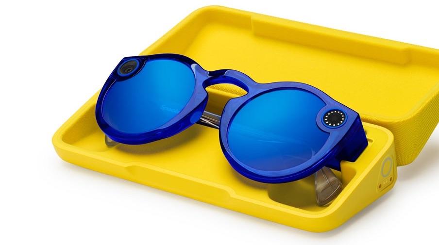 Spectacles 2 van Snapchat met kleinere koker.